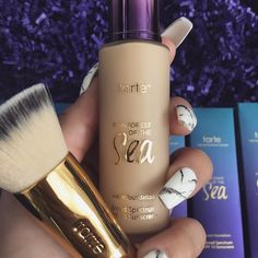 """Today water foundation from @tartecosmetics Finally something lightweight and full coverage at the same time. Added some maracuja oil with it to give…"""