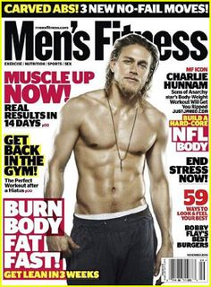 My long and lost friend, Ami, and I were obsessed with Charlie Hunnam after we watched Cold Mountain. He's beautiful and my celebrity crush, fo sho.