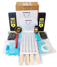 Shop a great selection of Hand Poke Stick Tattoo Kit - Clean & Safe Stick & Poke Tattoos. Find new offer and Similar products for Hand Poke Stick Tattoo Kit - Clean & Safe Stick & Poke Tattoos. Black Ink Tattoos, Cool Tattoos, Professional Tattoo Kits, Stick Poke Tattoo, Tattoo Practice Skin, Beginner Tattoos, Hand Poked Tattoo, Stick And Poke, Hand Molding