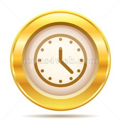 Royalty free icon for your projects. High quality golden internet icon on white background. Arrow Background, Web Design Icon, Internet Icon, Find Icons, Website Icons, Royalty Free Icons, Ios, Aesthetics, Clock