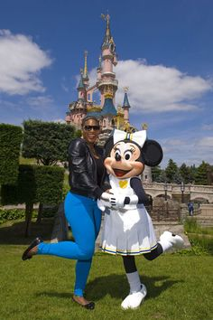 Serena Williams and Minnie Mouse!!!!