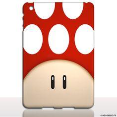 Air 2 iPad - Coque nouvel iPad 1UP Rouge, Housse de protection rigide. #ipad #coque #rouge