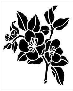 Image result for flower stencil