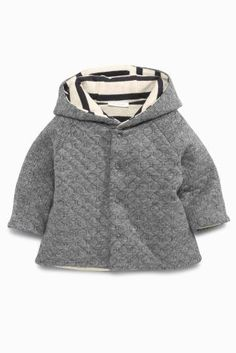 Buy Grey Quilted Jacket (0-18mths) online today at Next: United States of America