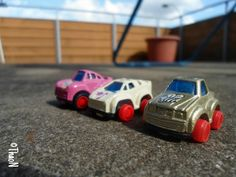 my mini car gang:) #freetoedit #noeffects