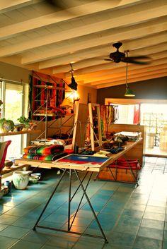 El Cosmico, Marfa, Texas - beautiful lobby Liz Lambert, Brewery Design, Marfa Texas, Le Far West, Lodges, Just Go, Provence, Interior Architecture, Bed