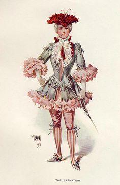 "William John Charles Pitcher (1858-1925) ""The Carnation"" - found at http://www.liveinternet.ru/users/lemon_jam/post184124958/"