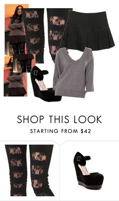 """""""jade west, beck falls for tori"""" by atjogia ❤ liked on Polyvore featuring Criminal Damage, Candy Kiss, Duffy, elizabeth gillies, liz gillies, beck oliver and jade west"""