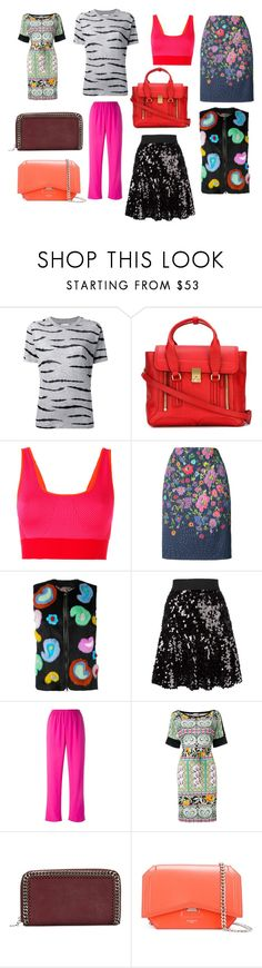 """creative"" by emmamegan-5678 ❤ liked on Polyvore featuring Zoe Karssen, 3.1 Phillip Lim, adidas, Oscar de la Renta, Etro, Dolce&Gabbana, Kenzo, STELLA McCARTNEY, Givenchy and vintage"
