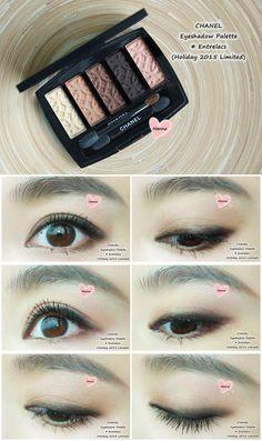 CHANEL eyeshadow palette 'Entrelacs' (Fall 2015 Limited)