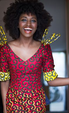 I And Africa | Dresses designed by Bamako-born designer Mariah...