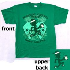 INSANE CLOWN POSSE GREEN CARNIVAL IRISH T-SHIRT MED NEW