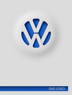 VW : Das Logo by Patrick Dufour, via Behance