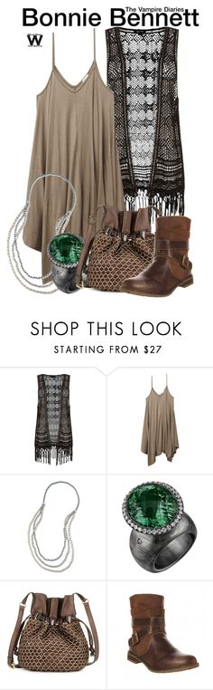 """""""The Vampire Diaries"""" by wearwhatyouwatch ❤ liked on Polyvore featuring Wet Seal, Kooba, Sporto, television and wearwhatyouwatch"""