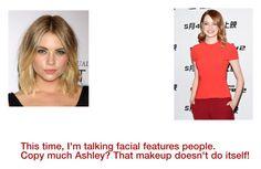 """Celeb criticism 4: Ashley Benson vs. Emma Stone."" by weirdo309 on Polyvore"