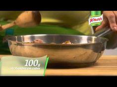 Quiche de Cogumelos e Fiambre - YouTube