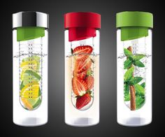 Fruit Infuser Water Bottle $16.00 - Take My Paycheck | The coolest gadgets, electronics, geeky stuff, and more!