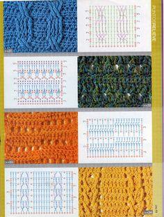 Basics :: Cable stitch diagram  #crochet