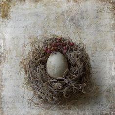 Layered nest.