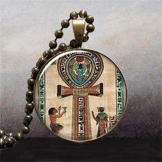 Ancient Egyptian Ankh pendant Ankh necklace charm, Egyptian jewelry, Ankh jewelry, jewellery @ $9.25