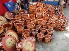 Typical crafts market, Amecameca, México