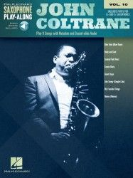 John Coltrane : play 8 songs with notation and sound-alike audio.