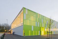 Slangen + Koenis Architects - Sports Hall in Rietlanden, (The Netherlands)