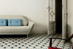 Bisazza: Cement Tiles designed by Jaime Hayon