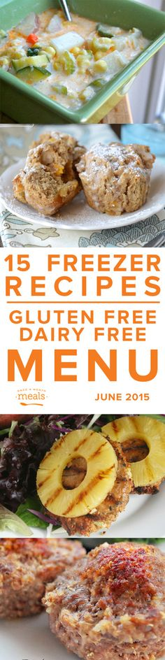 Gluten Free Dairy Free June 2015 | Freezer Cooking | Freezer Meals | OAMM | Once A Month Cooking