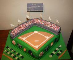 baseball cakes images   Cakes & Pops by Jenn: Baseball Cake