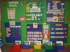 Literacy Focus Wall