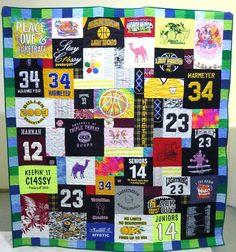 Cool T-shirt quilt