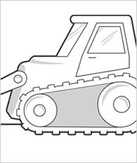 preschool construction coloring pages