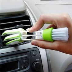 2016 New Arrival 웃 유 Hot Useful Car Air Double Head Brush Air-condition  ② Louver Instrument Cleaning Tool 2016 New Arrival Hot Useful Car Air Double Head Brush Air-condition Louver Instrument Cleaning Tool  http://wappgame.com