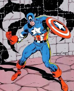 Steve Rogers CAPTAIN AMERICA by Kerry Gammill