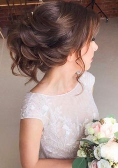 Long wedding updos and hairstyles from Elstile