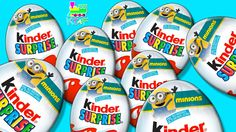 Minions Kinder Surprise Eggs - Can we get the complete Minion toy set?