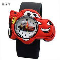 Ruislee Cartoon Child Silicone Boy Watch Children Kids Students Cartoon Student Watch Men Watches Relojes hombre Male hour Clock //Price: $10.21 & FREE Shipping //     #ladies
