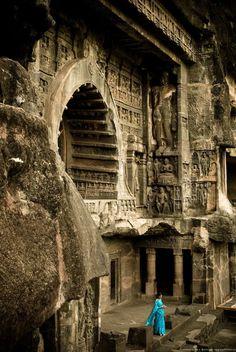 Ajanta Caves - Arangabad, India