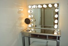 vanity mirror with lights - Google Search