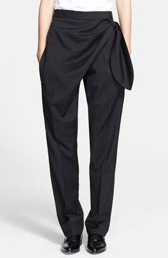 J.W.Anderson Knotted Wool Trousers available at #Nordstrom