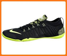 ef50ec6221cee Nike Women s Free 1.0 Cross Bionic Training Shoes-Black Volt-White-7.5  ( Partner Link)