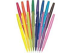 Paper Mate Flair® Felt-Tip Pens, Medium Point, Assorted, 16 Pack Felt Tip Markers, Best Pens, Marker Pen, Pen And Paper, Office Supplies, School Supplies, Art Supplies, Stationery, Medium