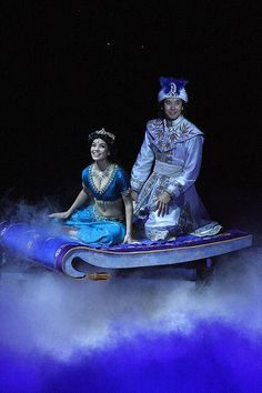 See a whole new world with Disney's Aladdin