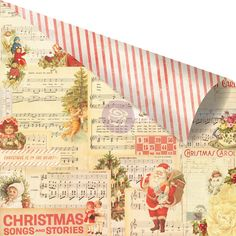 Prima+-+Sweet+Peppermint+Collection+-+Christmas+-+12+x+12+Double+Sided+Paper+with+Foil+Accents+-+No+Peeking+at+Scrapbook.com