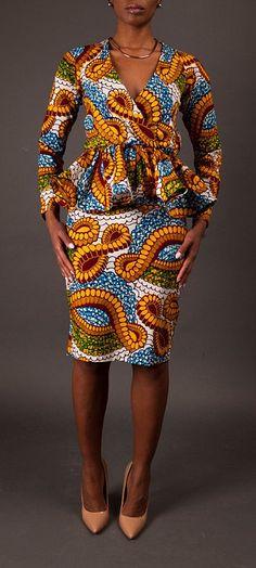 NEW The Diana Top. Ankara | Dutch wax | Kente | Kitenge | Dashiki | African print dress | African fashion | African women dresses | African prints | Nigerian style | Ghanaian fashion | Senegal fashion | Kenya fashion | Nigerian fashion | Ankara crop top (affiliate)