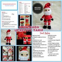 Amigurumi Buzu Ücretsiz Tarif - Amigurumi Tariflerim Crochet Dolls Free Patterns, Crochet Hats, Cost Of Goods, Baby Knitting, Free Knitting, New Day, Free Food, Origami, Teddy Bear