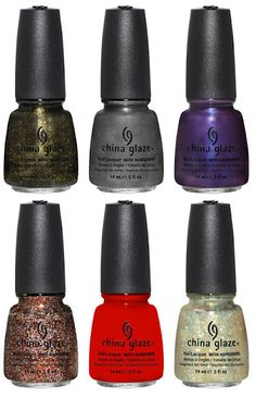 China Glaze Collection: Wicked for Halloween 2012