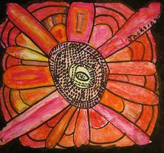 Van Gogh Sunflowers - 2nd Grade