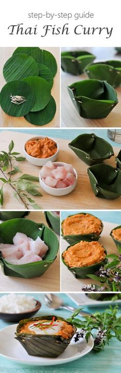 Easy and delicious Thai Fish Curry recipe with step by step instructions Thai Recipes, Curry Recipes, Fish Recipes, Seafood Recipes, Asian Recipes, Thai Cooking, Asian Cooking, Cooking Recipes, Laos Food